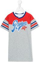 Little Marc Jacobs rainbow sporty T-shirt