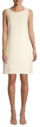 Peserico Sleeveless Textured Shift Dress