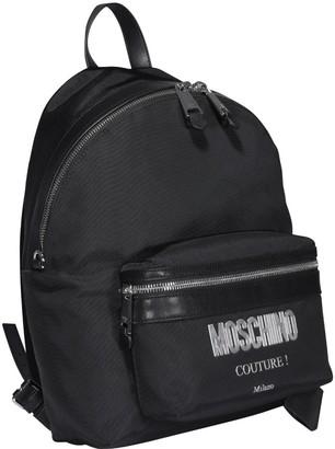 Moschino Print Backpack