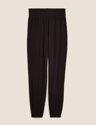 Marks and Spencer High Waisted Tapered Joggers