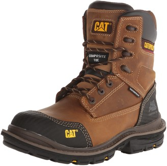 Caterpillar Men's Fabricate 8 Inch Tough Waterproof Comp Toe Work Boot