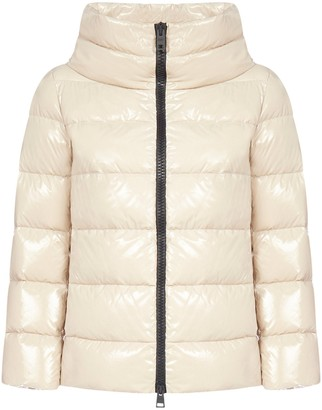 Herno Cropped Down Jacket