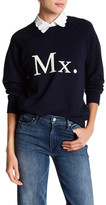 Mother The Champ Graphic Embroidered Sweater