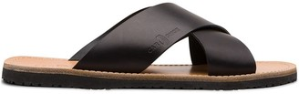 Car Shoe Crossover Strap Sandals