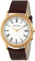 Titan Men's 1488YL03 Orion Classic Slim Watch