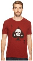Lucky Brand Skull Ace Graphic Tee Men's T Shirt