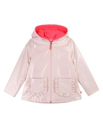 Billieblush Girls' Transparent Raincoat, Size 4-12