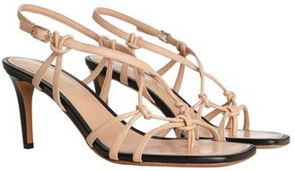 Zimmermann Knotted Strap Heel Sandal