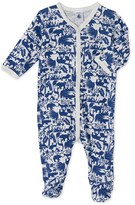 Petit Bateau Baby boys print sleepsuit