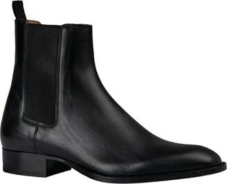 Sandro Paris Leather Chelsea Boots