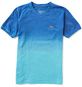Lucky Brand Big Boys 8-20 Breaks Dip-Dye Short-Sleeve Tee