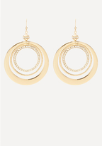 Bebe Circle Statement Earrings