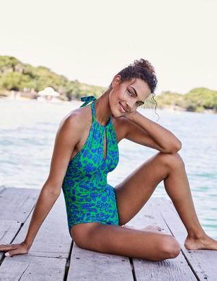 Liguria High Neck Swimsuit