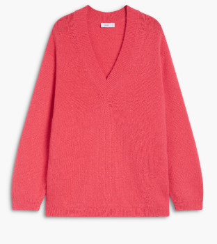 Closed Alpaca Mix Sweater - X-Small | red - Green/Red/Red