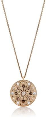 De Beers Rose Gold Talisman 10 Medal Necklace