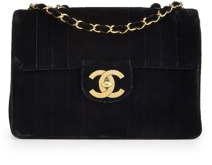 4fb18f46e462 Velvet Chanel Bag - ShopStyle