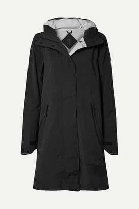 Canada Goose Kitsilano Hooded Reflective-trimmed Shell Jacket - Black