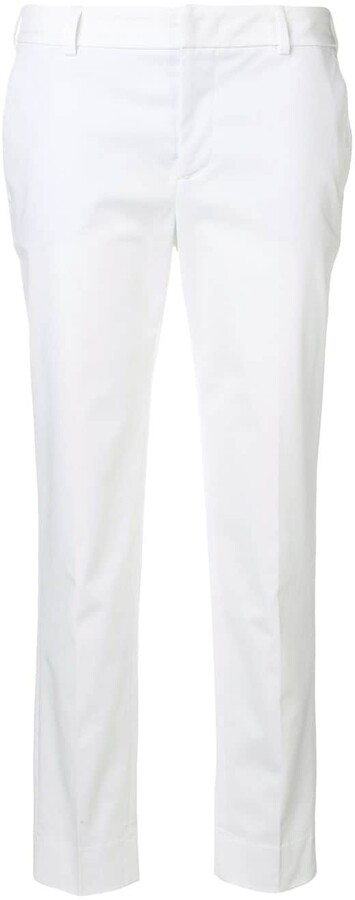Pt01 Cropped Tapered Trousers