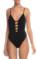 Bikini Lab The Solid Strappy One-Piece Swimsuit
