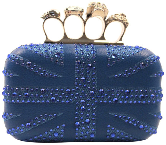 Niclaire Union Jack Crystal Baby