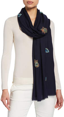Janavi K The Lucky Edition Merino Wool Scarf