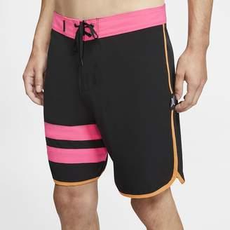 "Nike Men's 18"" Board Shorts Hurley Phantom Block Party Solid"