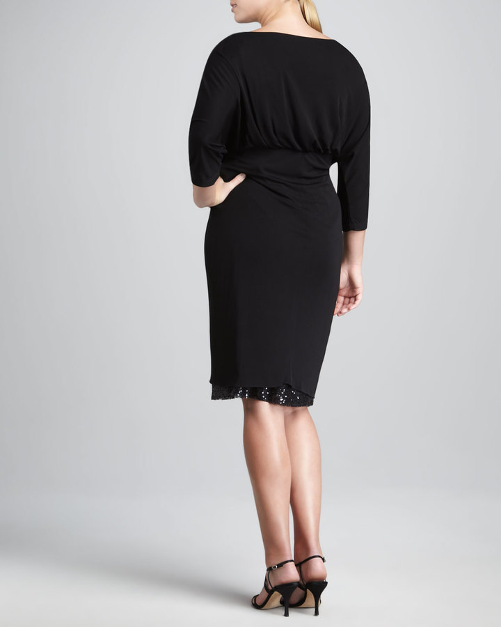 JilRo Dinner Party Wrap Dress, Women's