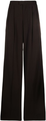 Bottega Veneta Loose-Fit Wool Trousers