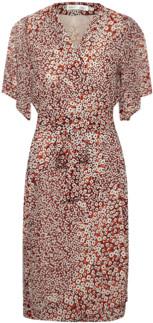 InWear Tally Wrap Dress - 8 | russet - Russet
