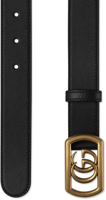 Gucci Belt with framed Double G buckle