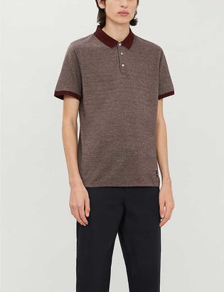 Corneliani Slim-fit cotton-pique polo shirt