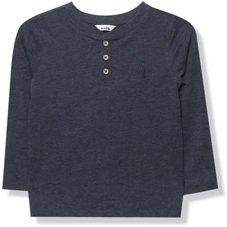 M&Co Grandad collar t-shirt (3-12yrs)