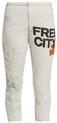 Freecity Superbleach Rollup Logo Sweatpants