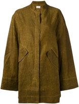 Simon Miller flap pocket coat - women - Cotton - 1