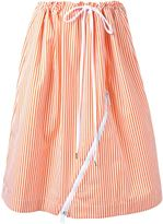 Jil Sander striped skirt - women - Cotton - 36