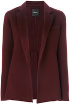 Theory double-faced pleated jacket