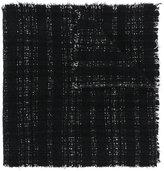 Faliero Sarti embroidered fringed scarf