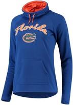 Unbranded Women's Royal Florida Gators Funnel Neck Pullover Sweatshirt