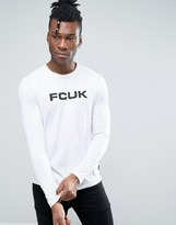 French Connection Long Sleeve Top with Print