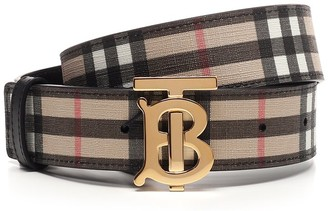 Burberry TB Logo Buckle Belt