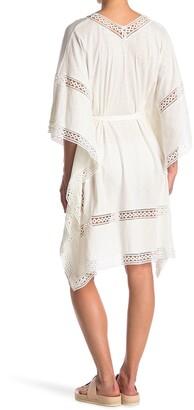 AllSaints Trine Crochet Trim Cover-Up Tunic