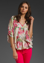 Elizabeth and James Floral Whitney Top