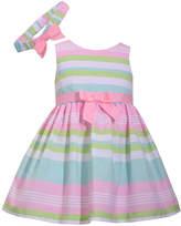 Bonnie Jean Sleeveless Stripe Dress - Baby Girls