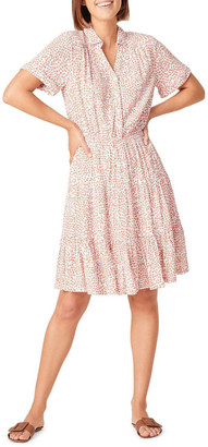 French Connection Crinkle Ditsy Floral Dress