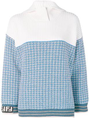Fendi Micro Check Pullover