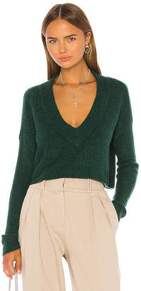 L'Academie Lorelai V Neck Sweater