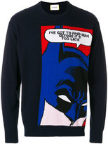 Iceberg Batman cartoon sweater