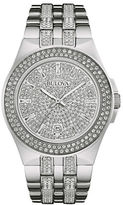 Bulova Crystal Studded Analog Watch
