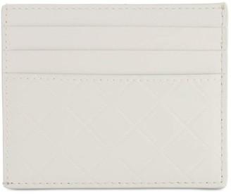 Bottega Veneta Embossed Leather Card Holder