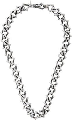 Emanuele Bicocchi Silver Chain Necklace